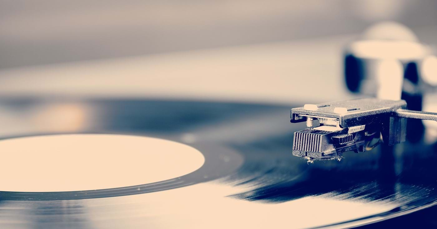 Listening to music on vinyl